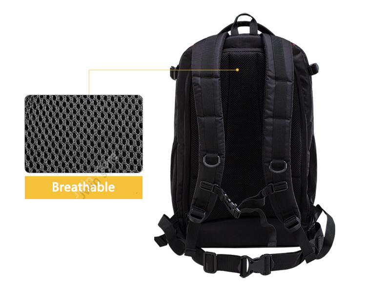 CADeN Professional Travel Waterproof Fashion Camera Backpack Photo tas Digital Camera Bag Case for Dslr Sony Canon Nikon K6K7 6