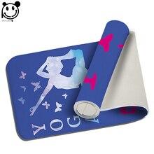 PEIYUAN Welcome Indoor Doormat Print Pure Color Yoga Butterfly Yoga Mat Door Mat Floor Mat Rug Carpet for Bedroom