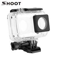 SHOOT 40M Diving Waterproof Case Protective Housing Case For Xiaomi Yi 4K Xiaoyi 2 Plus 4K