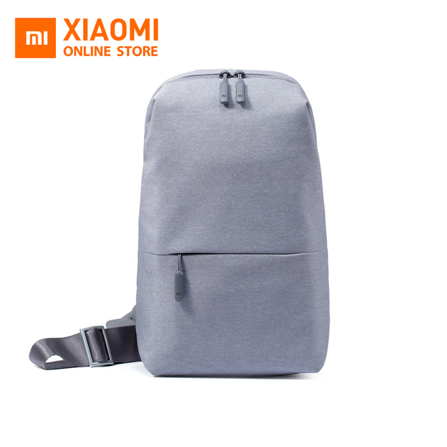 Original Xiaomi Mi Backpack Urban Leisure Chest Pack Bag For Men Women  Small Size Shoulder Type Unisex Rucksack Backpack Bags eef5c008ccb80