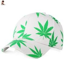 CHESSIECA alta calidad al por mayor hoja de cáñamo Color impresión moda  Snapback hip-hop sombrero hombres mujeres gorra de béisb. 0751d2a6d73