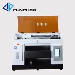 Multicolor atramentowej laser koszulka drukarka UV typu flatbed maszyna drukarska drukarki