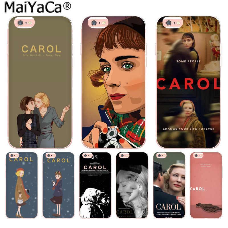 MaiYaCa Carol phim Cao Cấp điện thoại Cao cấp Phụ Kiện dành cho iPhone 11 PRO 8 7 66S Plus X 10 5 5S SE XR XS XS MAX