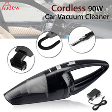 90W Cordless Rechargeable Hand held Cyclonic Car Vacuum Cleaner Super Suction Wet Dry Duster Collector For Car