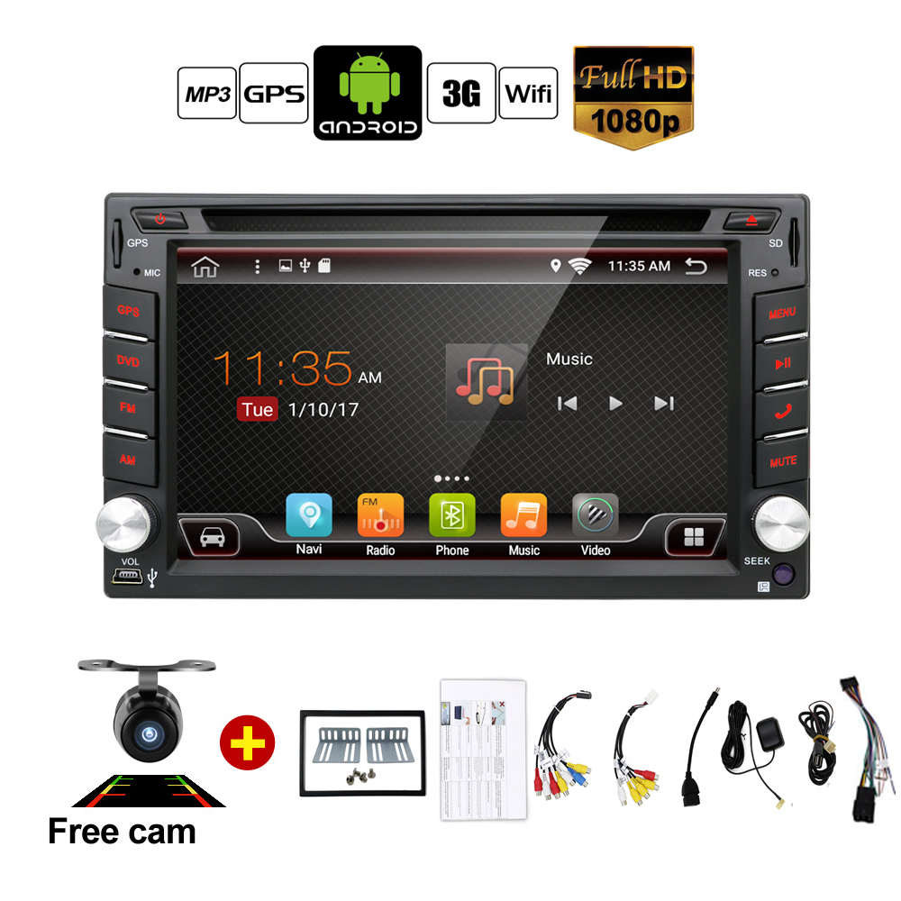 Auto Android 7.1 Car Audio GPS Navigation 2DIN Car Stereo Radio Car GPS Bluetooth USB/Universal Interchangeable Player TV 8G MAP auto android 6 0 car audio gps navigation 2din car stereo radio car gps bluetooth usb universal interchangeable player tv 8g map