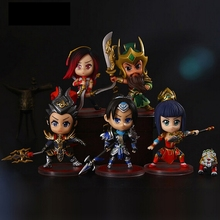 10cm New 5pcs/lot game pvc Action Figure Toy Collector's Edition Figure PVC Deluxe Model toy Anime Brinquedos juguetes hot sale