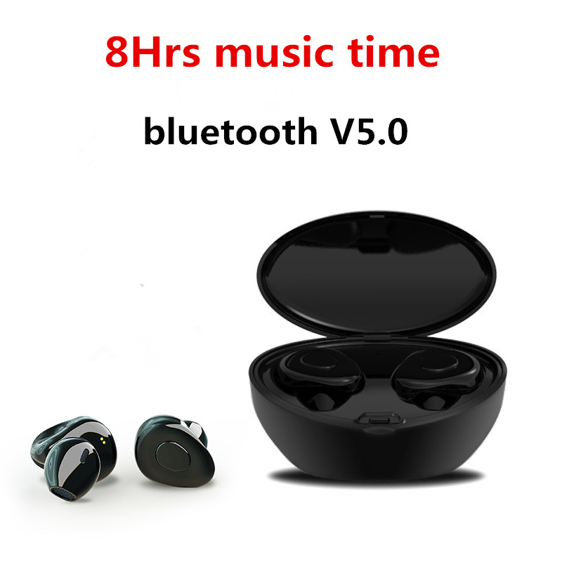 TWS X12 Bluetooth 5.0 Earphone True Wireless Stereo Earbud HIFI In-ear Bluetooth Headset for Phone HD Communication Portable zonyee m02 mini bluetooth earbud csr4 1 wireless earphone handsfree with hd mic stereo in ear bluetooth headset for phone xiaomi