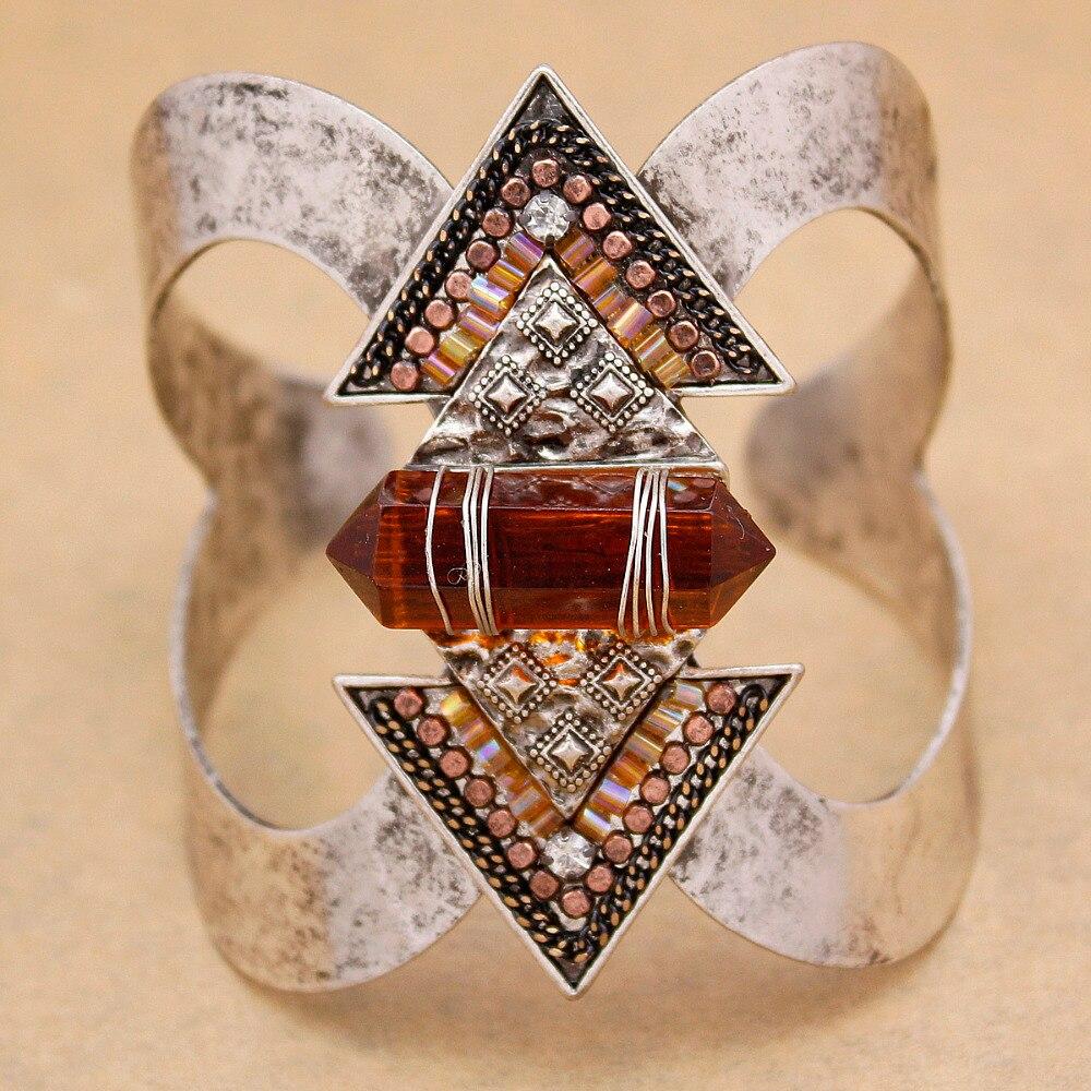Vintage Silber Pfeil Steine Zuni Navajo Armbänder Für Frauen Große Breite Armreifen Pulseiras Manschette Native American Indische Männer Schmuck