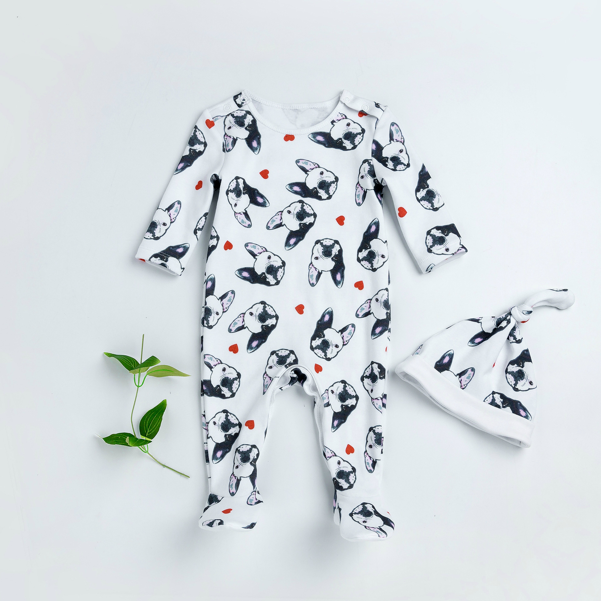 Baby Rompers Tiny Cottons Newborn Boys Romper Girls Clothes Dog