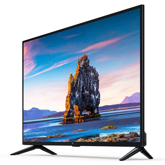 Телевизор Xiaomi mi ТВ Android светодиодная подсветка Смарт ТВ 4S 32 дюйма | Custo mi zed русский язык | подарок настенный кронштейн 2
