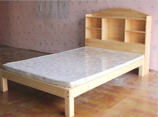 New Special Wood Bed Pine Bookshelf Children With Adult Beds 12 M 18 Double