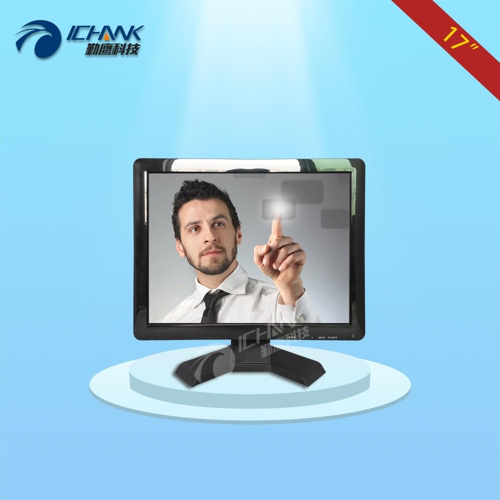 B170JC-V59/17 inch 1280x1024 4:3 HDMI VGA USB interface signal Wall-mounted industrial medical touch monitor LCD screen display