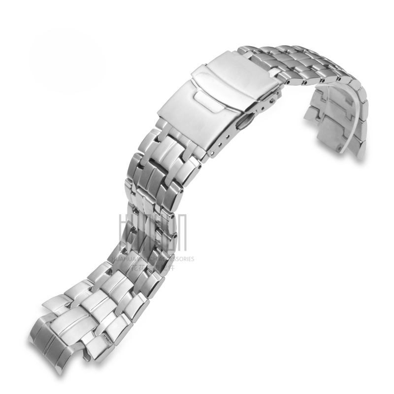 New! Applicable to for Casio EF-540D strap solid steel strap watch accessories casio ef 540d 1a