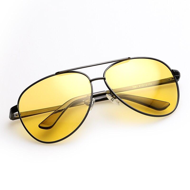 89216ca80e01 POLARSNOW Brand HD Polarized Night Driving Glasses Unisex Anti Glare Vision  Driver Safety Sunglasses UV400 Men Goggles Eyewear-in Sunglasses from  Apparel ...