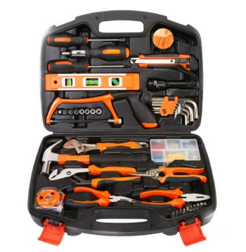106 piece Hardware hand tool set woodworking power tools toolbox home kit combination Gift Set Repair Multifunction Tools