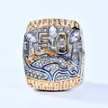 OFFICIAL VERSION 2015 DENVER BRONCOS SUPER BOWL 50 WORLD MANNING CHAMPIONSHIP RING SIZE 8 - 14 Free Shipping