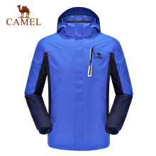 Camel Outdoor Men Jacket Winter Thermal Twinset Two-pieces Windproof Jackets A6W245110
