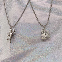ABC love angel archery Cubitt Love Pendant clavicle chain Harbin Europe and America wind punk cool Necklace