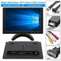 10,1 дюймов многофункциональный HD подголовник автомобиля монитор TFT ЖК дисплей HD цифровой Экран Авто Видео плеер Поддержка HDMI/VGA/ AV/USB/ТВ