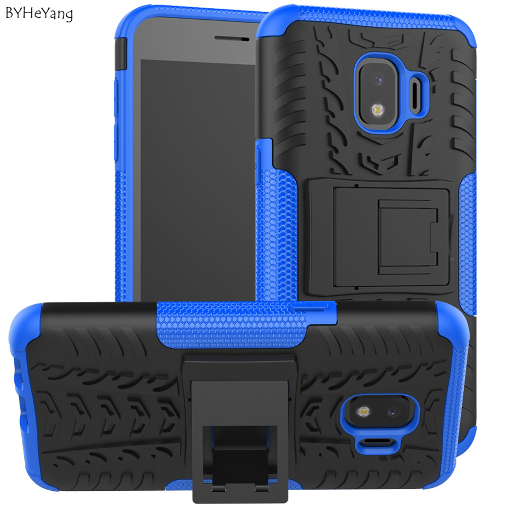BYHeYang Case For Samsung Galaxy J2 Core Cover Dual Layer Armor Back Case For Samsung J2 Core J260 Funda Shell On J260f TPU&PC