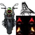 LED Motorcycle Tail Lights Rear Brake Taillight Stop Light For KAWASAKI Z1000 2014 2016 Turn Signal Indicator Integrated