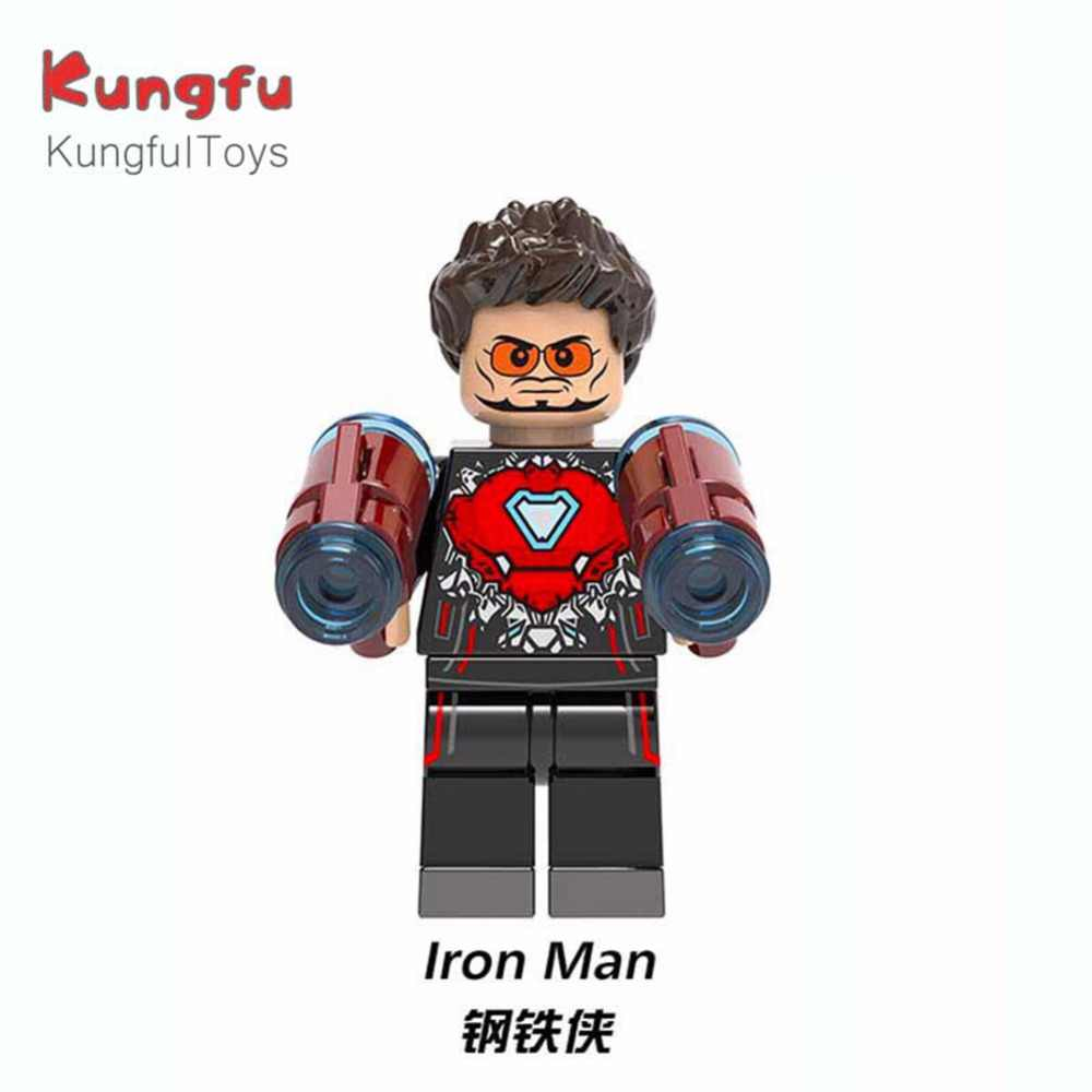 Одиночная продажа фигурки бесконечности войны баннер Брюс муравей-человек Hawkeye Железный человек Тор Legoing строительные блоки Дети новогодние подарки XH865
