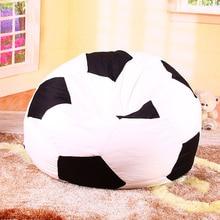 Only Bean Bag Sofa Cover For Livingroom Bedroom Balcony Tatami Bean Bag Chair Cover Sunroof Sofa Lazy Beanbag Cover no filler