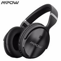 Mpow ANC Active Noise Cancelling Wireless Bluetooth Headphones Hi Fi Stereo Headset With EVA Bag For