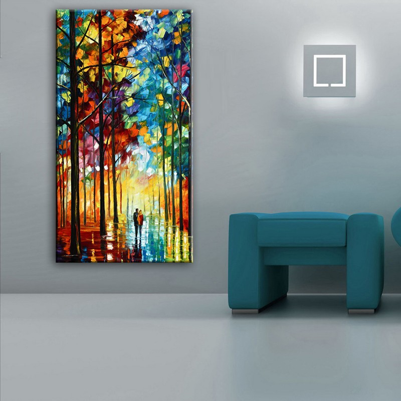 Home decor simulation oil painting on the canvas print for House decoration simulator