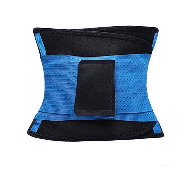 Waist Support Slimming Sweat Belt Trimmer Body Shaper Workout Fitness Safety Back Belt Postpartum Abdominal Elastic Trainer 2