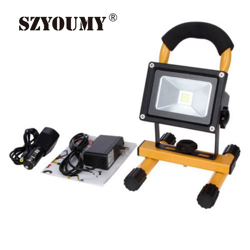 Led Flood Light Rechargeable 20w: SZYOUMY Powerful 10W 20W 30W 50W LED Flood Light