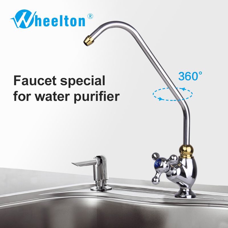 Wheelton NSF Certified Three-pronged RO Faucet Kitchen Drinking Water Tap For Filter Purify System such as Reverse Osmosis банан шт such as water 100g3