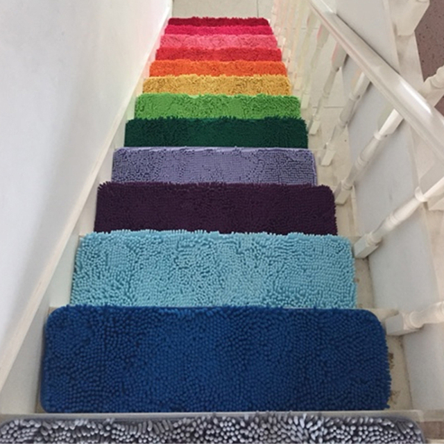 High Quality 1pcs Home Decoration Bath Mats Absorbent Non Slip Stair Mat 20