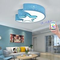 wongshi Smart LED Ceiling Light lamparas de techo For Living room light Children ceiling light