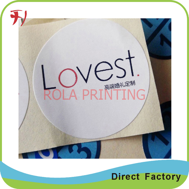High quality printing custom own logo adhesive roll label waterproof promotional stickerswaterproof shampoo