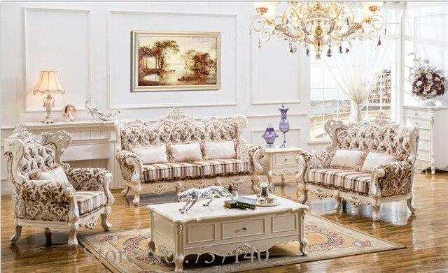 Woonkamer Set Hout : Hout en lederen woonkamer sets bankstel woonkamer meubels luxe
