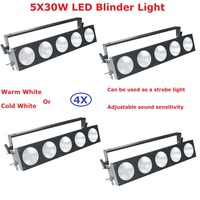 4 Pack Factory Sales 5 Eyes 30W Led Audience Light COB Power 150W Warm White or Cold White Optional Pixel Matrix Blinder Light