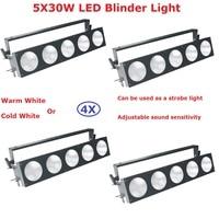 4 Pak Factory Sales 5 Ogen 30 W Led Publiek Light COB Power 150 W Warm Wit of Koud Wit Optioneel Pixel Matrix Blinder licht