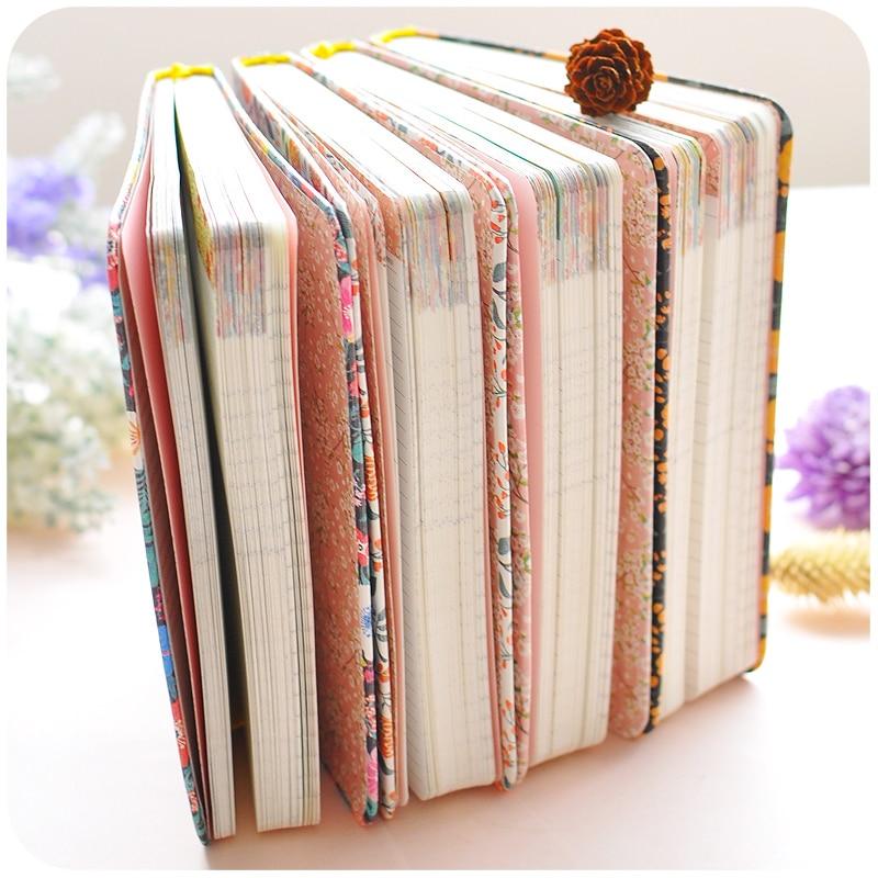 2019 Baru Kedatangan Lucu PU Kulit Bunga Bunga Jadwal Buku Mingguan - Notebook dan menulis bantalan - Foto 3