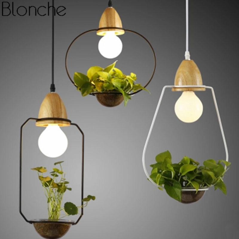 Modern Plant Pendant Lights Iron Hanglamp Home Decor For Kitchen Living Room Lamp Luminaire Nordic Restaurant Light Fixtures E27 modern crystal lustres pendant lamp gold lampshade light fixtures for restaurant hanglamp e27 home decor bedroom 110v 220v avize