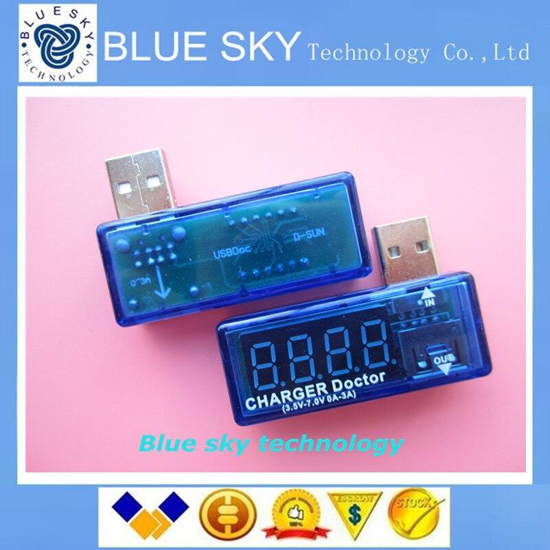 Digital font b USB b font Mobile Power charging current voltage Tester Meter Mini font b