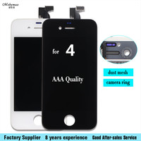 Mobymax AAA Quality LCD For IPhone 4 4G Screen Replacement LCD Display Touch Screen Digitizer Quality