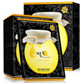 Hankey mel de bambu carvão vegetal preto máscara de cuidados da pele acne tratamento de clareamento hidratação profunda rugas anti-envelhecimento diminuir os poros