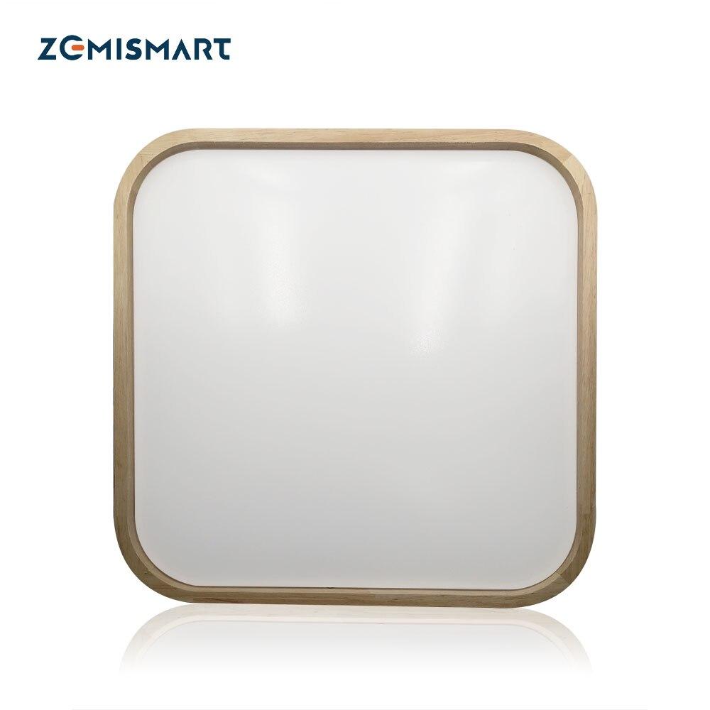 WIFI Square Ceiling Light Alexa Echo Google Home Assistent APP Remote Control Warm White Cool White