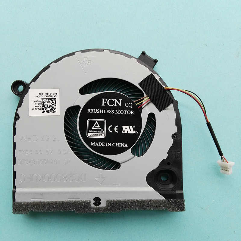 New orignal CPU GPU FAN for Dell G5 15 5587 series cooling fan cooler  0TJHF2 TJHF2 0GWMFV GWMFV FKB8 DC28000KUF0