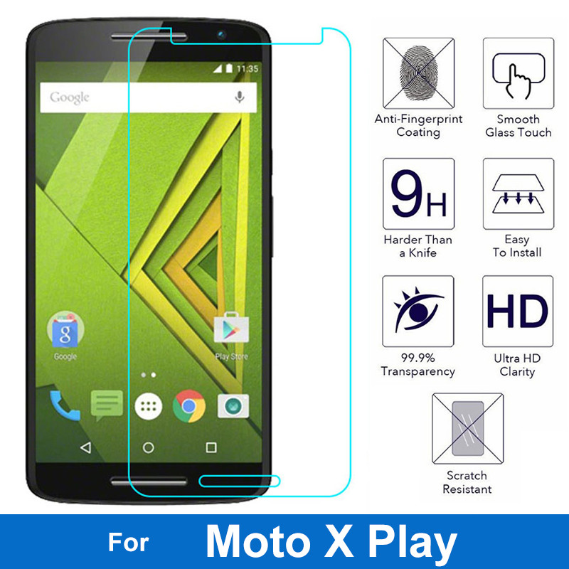 Premium Glass Screen Protector Tempered Glass For Motorola Moto X Play Lte XT1561 XT1562 XT1563 X3 Lux Glass Protective Film