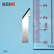 цена на Tungsten carbide steel slotting cutting machine blade Z43