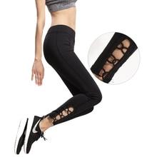 Yoga Sports Leggings For Women Sports Tight Hollow Yoga Leggings Comprehension Yoga Pants Women Running Tights