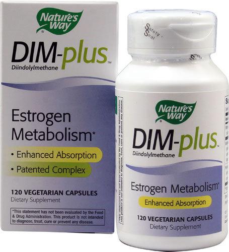 Frete grátis Nature's Way DIM-mais O Metabolismo Do Estrogênio 120 Cápsulas Vegetarianas