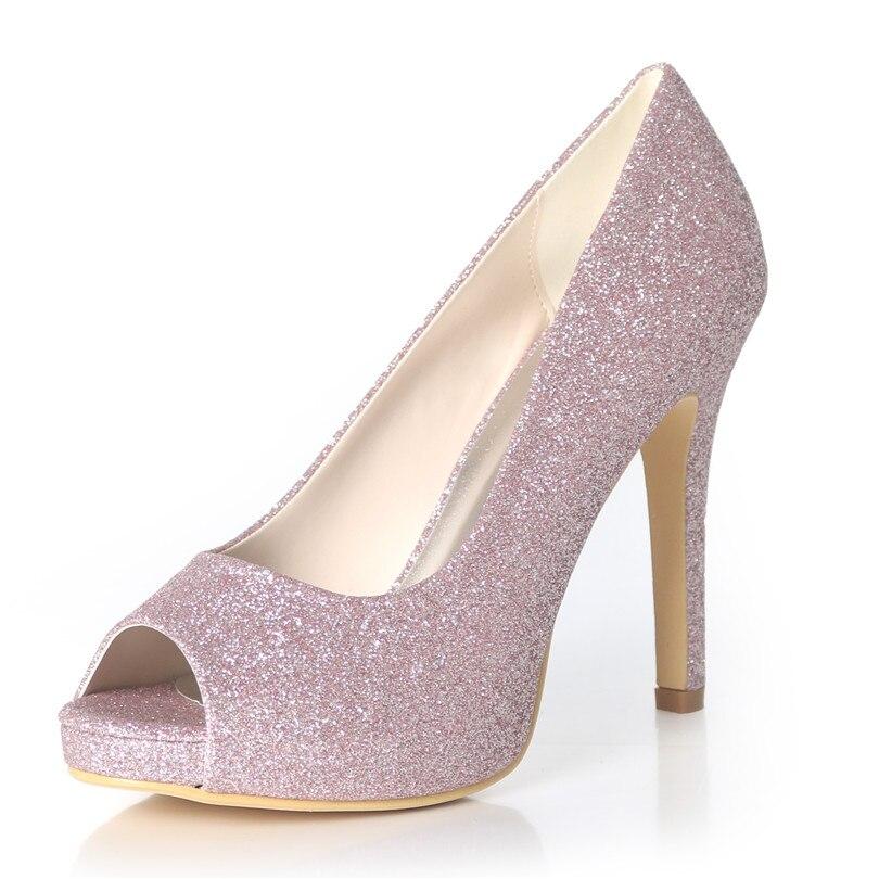 De 02 light blanco Zapatos Honor Dama Purple Noche Super plata champagne Negro Fiesta Uninnova La Peep Novia Boda 6041 Toe Plataforma Tacones Vestido Mujeres ITBSHq